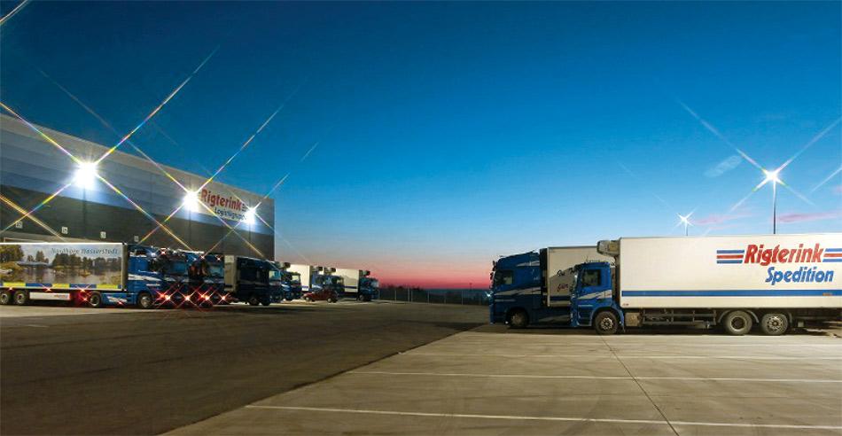 Rigterink Logistikgruppe Nordhorn - Weniger Schadstoffemissionen