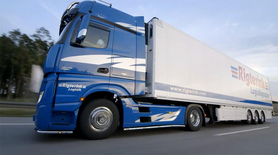 Rigterink Logistikgruppe Nordhorn - Mercedes Benz Actros