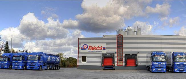 Rigterink Logistikgruppe Nordhorn - Lager Nordhorn