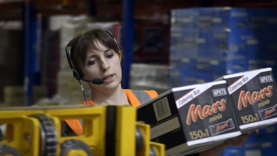 Rigterink Logistikgruppe Nordhorn - Pick by Voice