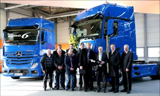 Rigterink Logistikgruppe Nordhorn - Truck and Van