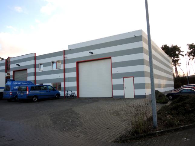 Rigterink Logistikgruppe Nordhorn - Werkstatt